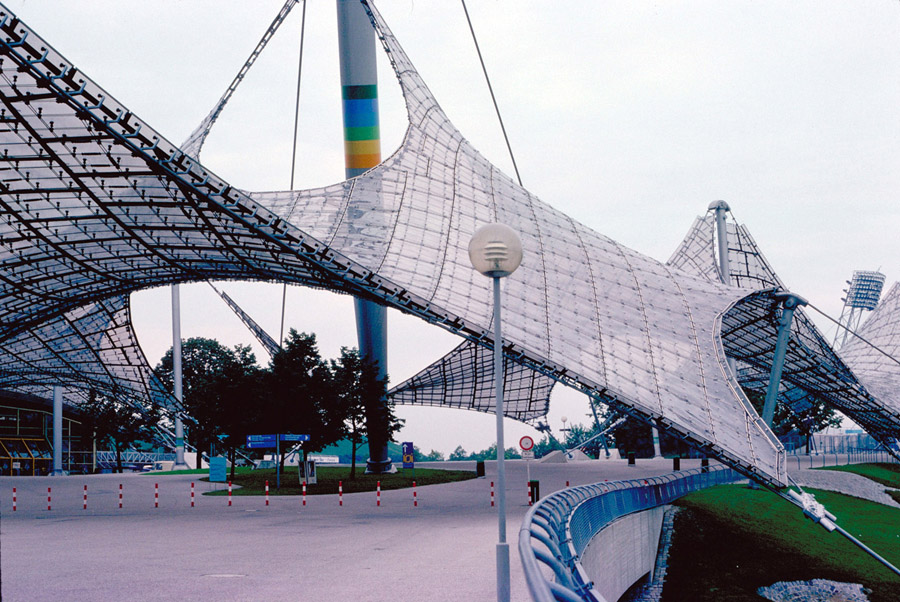 Frei Otto Cablenet Structures