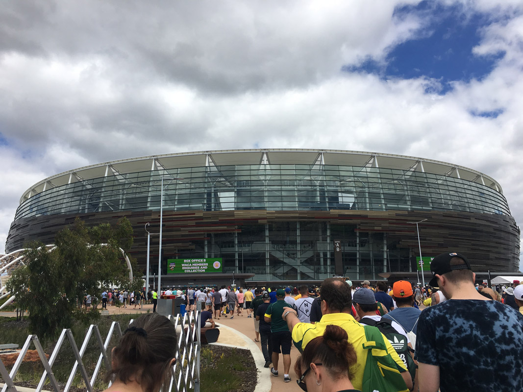 External View Optus Stadium